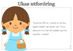 ukas utfordring Daily Challenges, Teaching Math, Maths, Kids Education, Family Guy, Classroom, School, Ideas, Art