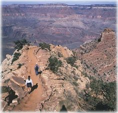 """Whether doing a day hike or a backcountry hike, though, the Grand Canyon's many trails always should be taken seriously. The park annually averages around 400 medical emergencies on trails while about 250 people need to be rescued (which the rescued hiker gets billed for, by the way). Read more about Grand Canyon trails in """"Hittin' the Trail: Day Hiking Grand Canyon National Park."""""""
