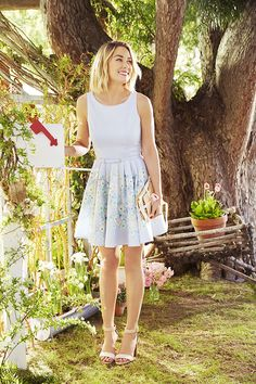 Who else is in love with Lauren's Floral Fit & Flare Dress from her LC Lauren Conrad Kohl's Collection?
