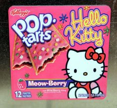 1 Hello Kitty Pink Fridge Magnet Refrigerator Magnets Pop Tart Cereal RARE X | eBay