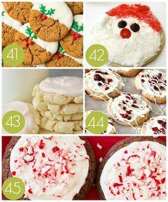 Christmas Cupcake Cake, Best Christmas Cookie Recipe, Christmas Cookie Exchange, Holiday Cookie Recipes, Chocolate Cookie Recipes, Christmas Sugar Cookies, Christmas Snacks, Christmas Cooking, Holiday Desserts