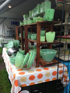 At Brimfield Antique Show with Pattern and Branch