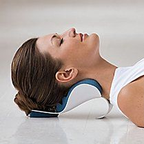 Natural Back and Neck Pain Relief and Spinal Care - Gaiam. I purchased this years ago and love it! The quickest way to relieve tension in your neck!!