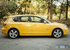 Mazda 3 yellow