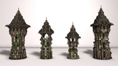 Medieval and Fantasy Builds Minecraft Collection Minecraft architecture Minecraft castle Minecraft steampunk