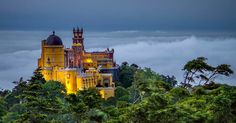 On this tour from Lisbon, learn the secrets of Sintra. Discover exotic gardens, Europe's westernmost point, caves with Masonic symbols and some of the most compelling architecture in the country, including a famed Pena Palace.
