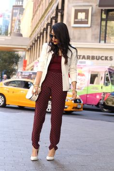A Love Affair With Fashion : NYFW Day 2: Printed Pants
