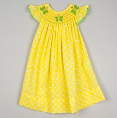 im letting my kids wear yellow