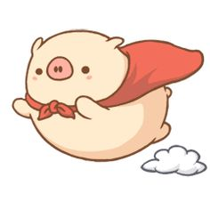 Rinku-chan is a cute fat pig. Rinku loves to eat and sleep all day. Impress your friends and family with these lovely stickers! Cartoon Wallpaper, Cute Wallpaper Backgrounds, Cute Wallpapers, Sweet Drawings, Kawaii Drawings, Easy Drawings, Fat Cartoon, Cartoon Familie, Tier Doodles