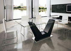 Muebles COSAS de ARQUITECTOS: Comedor Moderno Vinaro - Ambientes de Comedor de Diseño - Muebles de Diseño