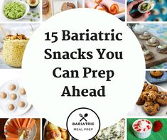 15 Bariatric Snacks You Can Prep Ahead – Bariatric Meal Prep Eating small snacks in between meals is important after bariatric surgery. Here are fourteen dietititan approved bariatric snacks to eat after surgery. Bariatric Eating, Bariatric Surgery, Vsg Surgery, Gastric Bypass Surgery, Weight Loss Surgery, Low Carb Taco, Bariatric Sleeve, Pureed Food Recipes, Delicious Recipes