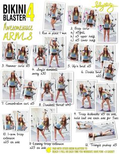 Easy effective arm workout @Vicki Smallwood Szajkovics at home arm workouts!