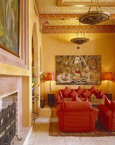 Марокканский стиль Марокканский стиль   это, прежде всего сочетание  арабских, африканских и средизем