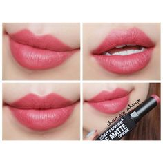 #changmakeup #beauty #lipstick #lip #makeup #swatch #citycolor #citycolorcosmetics #bematte #citycolorbematte #Kelly