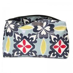 Moroccan Rif Print Washbag - Large | Love this Fabric | new onto the website #washbag #handmade