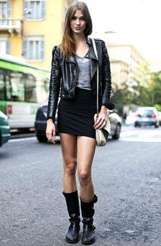 Karlie Kloss street style
