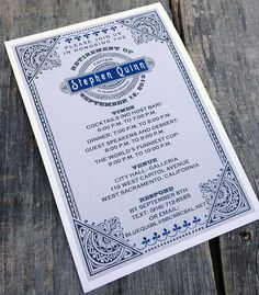 Manly retirement or birthday party invitations - perfect for police officer, fire fighter, soldier!