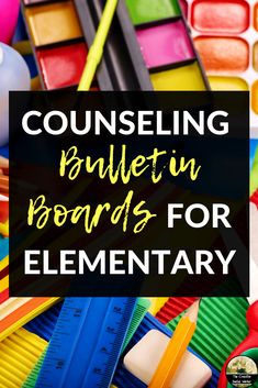 Bulletin boards for elementary counseling or social work Guidance Bulletin Boards, Counselor Bulletin Boards, Health Bulletin Boards, Elementary Bulletin Boards, School Counseling Office, Elementary School Counselor, School Social Work, Elementary Schools, Inspirational Bulletin Boards