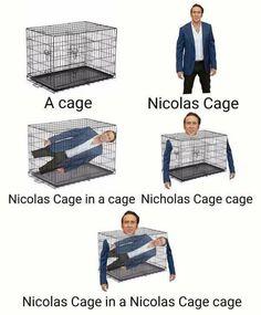 Nicolas Cage-ception    Read more at KnowYourMeme.com.