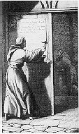 www.luther.de: Legends about Luther: 95 Theses
