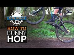 How to Bunny Hop a Mountain Bike - Best Step by Step Guide - YouTube