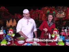 Holiday treats at the Disneyland Resort and Candy Apple Tutorial - YouTube