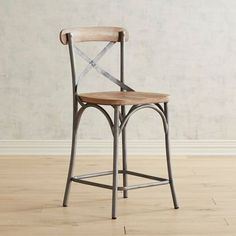 Zach Whitewashed Counter Stool with Raw Metal Eames Chairs, Bar Chairs, Upholstered Chairs, High Chairs, Swing Chairs, Room Chairs, Rattan Chairs, Desk Chairs, Metal Chairs