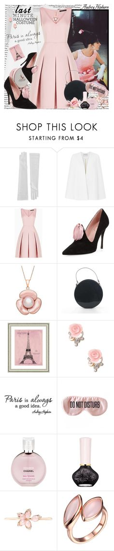 """""""Allways Paris!"""" by hennie-henne ❤ liked on Polyvore featuring Amanda Wakeley, BCBGMAXAZRIA, Roger Vivier, Vintage Print Gallery, BaubleBar, Chanel and Stephen Webster"""