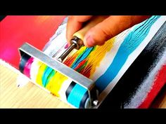 KING ART N 50 TRAMONTO DI PRIMAVERA - YouTube Bob Ross Paintings, Surfboard Art, King Art, Acrylic Flowers, Painting Videos, Abstract Landscape, Craft Fairs, Separate, Landscaping