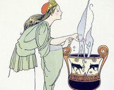 Margaret Evans Price -- Medea is practicing magic