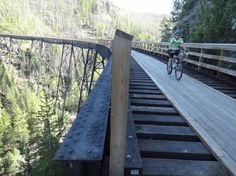 Bike Canada Rail Trail KETTLE VALLEY RAIL TRAIL BC