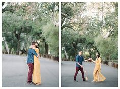 Couple dances during Southern California Engagements  | Brooke Bakken | Orange County Engagement Photographer