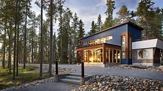 Sotkamo Villa Sleeps 8 WiFi is located in Sotkamo. Guests have access to free WiFi. Sotkamo Villa Sleeps 8 WiFi Sotkamo Finland R:Eastern Finland hotel Hotels Free Wifi, Home Fashion, Finland, Villa, Cabin, Mansions, House Styles, Mtv, Hotels