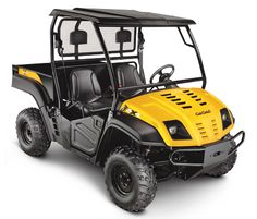 Volunteer™ 4x4  Utility Vehicle  Powerful, efficient 624cc V-Twin engine  4-wheel drive with differential lock for traction  1,400-lb. towing and payload capacity