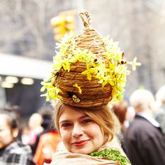 Festive, Crazy Hats at New York's Easter Parade