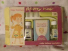 Vintage Miss Merry (My Merry) PRETTY HAIR - Make Believe Cosmetics Play Set