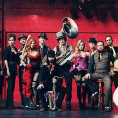 If you're into post-Prohibition New Orleans-infused orchestral takes on jazz, ragtime and cabaret — and really, who isn't? — then Vaud and the Villains should be right up your alley. The longstanding Los Angeles outfit will be at California Plaza Watercourt on Thursday, Dec. 18, at noon. The noise may be unexpected in the middle of the day, so loosen the necktie, take a deep breath and enjoy the free outdoor fun! #DTLA #LA #LosAngeles #DowntownLA #DowntownLosAngeles #VaudandtheVillains…