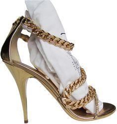 Balmain Jewel Chain Stilettos