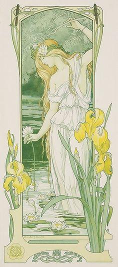 Elisabeth Sonrel -  Spring, 1900.