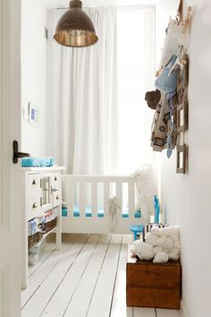 natural materials in children's rooms