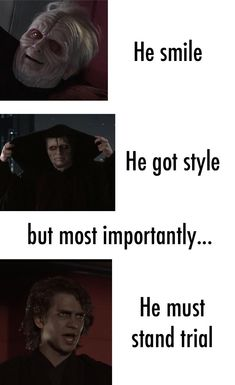 Memes of the Star Wars Prequels. Star Wars Jokes, Star Wars Facts, The Elder Scrolls, Star Wars Pictures, Star Wars Images, Really Funny Memes, Stupid Funny Memes, Funny Stuff, Hilarious