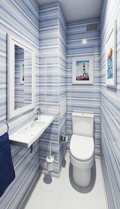 Современный дизайн двухкомнатной квартиры 52 метра для семьи с двумя детьми-2