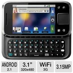 Motorola Flipside Black WiFi Android GSM QuadBand Cell Phone -- Check out this great product. Cell Phone Store, Cell Phones For Sale, Prepaid Phones, Phone Deals, Sports App, Phone Companies, Unlocked Phones, Android Smartphone, Android Apps