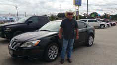 LOIS 's new 2013 CHRYSLER  200! Congratulations and best wishes from Benny Boyd Motor Company - Marble Falls and DEE NIXON.