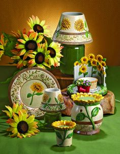 tuscan sunflower kitchen decor | Share