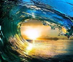 HUGE Water Wave Outdoor Scene Ocean Sun Sky Picture Art Mural Vinyl Wall - Best Selling Cling Transfer Decal Peel & Stick Sticker Graphic Design Color 763 Size : 40 Inches X 40 Inches - 22 Colors Available No Wave, Waves Wallpaper, Summer Wallpaper, Surfing Wallpaper, Water Waves, Sea Waves, Phone Backgrounds, Wallpaper Backgrounds, Iphone Wallpaper