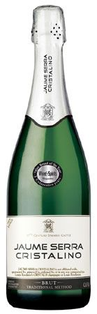 Jaume Serra Cristalino Brut Cava ~ perfect bubbly for your tailgating adventures!