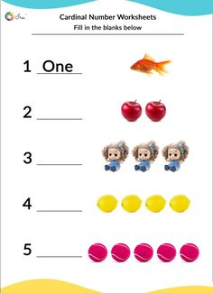 Printable Cardinal Numbers English Worksheets for your Child Months) - Ira Parenting Number Words Worksheets, Preschool Number Worksheets, English Worksheets For Kindergarten, Preschool Math Games, Numbers Preschool, Kindergarten Learning, Handwriting Worksheets, Math Activities, English Activities For Kids