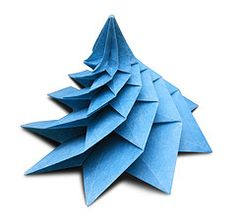 Logarithmic Spiral - Evan Zodl (EZ Origami) Tags: evan flower tower spiral origami foil tissue n nicolas terry fibonacci ez fractal sequence octagon logarithmic zodl precreasing decreeping ezorigami