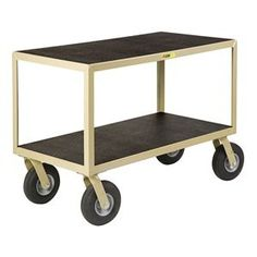 Mobile Instrument Table, 2 Shelf, 36x24 by Little Giant. $611.97. Mobile Instrument Table, Flush Shelves, Load Capacity 1200 lb., Welded Steel Construction, Gauge Thickness 12, Powdercoat Finish, Color Gray, Overall Length 36 In., Overall Width 24 In., Overall Height 34 In., Number of Shelves 2, Caster Size 8 In., Caster Type 4 Swivel, Caster Material Pneumatic, Distance Between Shelves 19-1/2 In., Shelf Length 36 In., Shelf Width 24 In.